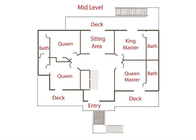 Floor Plan - Mid Level