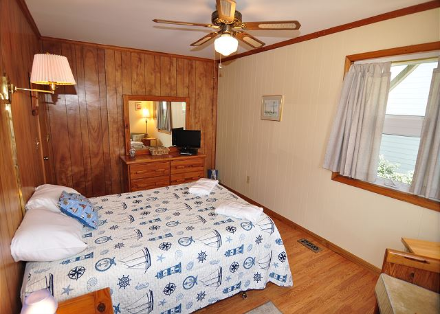Double Bedroom Mid Level of Kara's Sandcastle, a 4 bedroom, 2.0 bathroom vacation rental in Corolla, NC