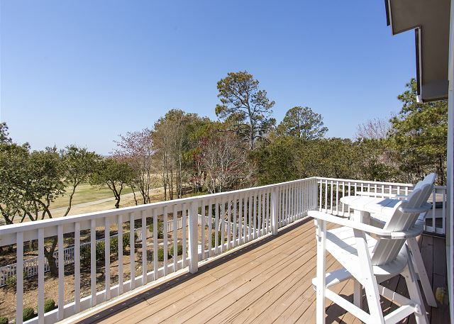 Deck Top Level of Ray's the Roof, a 5 bedroom, 5.5 bathroom vacation rental in Corolla, NC