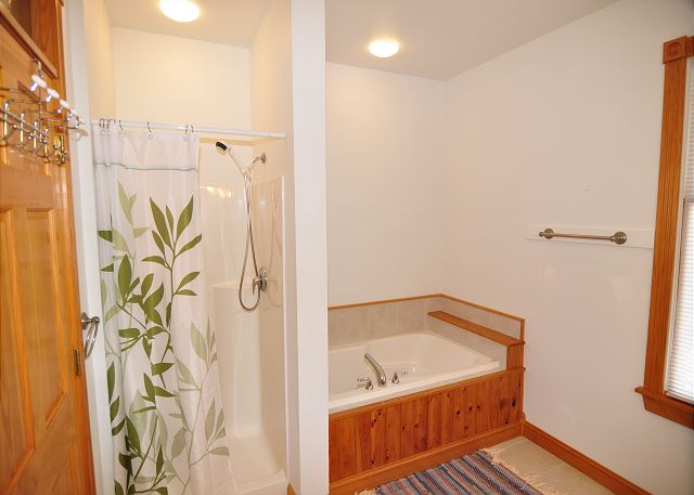 King Master Bathroom of Serendipity, a 5 bedroom, 4.5 bathroom vacation rental in Corolla, NC