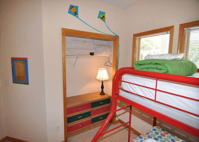 Bunk Room Entry Level of Amazing Grace, a 4 bedroom, 3.5 bathroom vacation rental in Corolla, NC