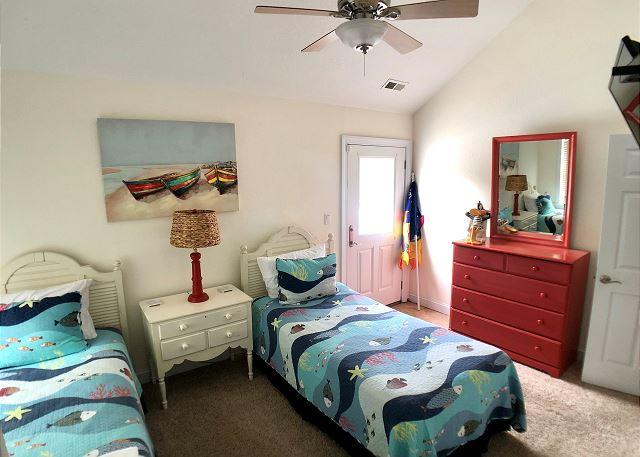 2 Twins Bedroom - Top Level
