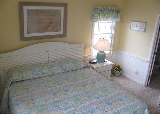 King Bedroom mid level of Neely's Beach Music, a 5 bedroom, 3.5 bathroom vacation rental in Corolla, NC