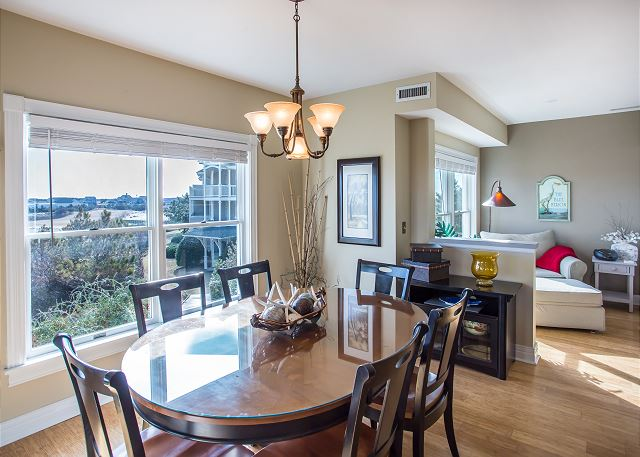 Dining area of Memories By The Sea, a 3 bedroom, 3.0 bathroom vacation rental in Corolla, NC