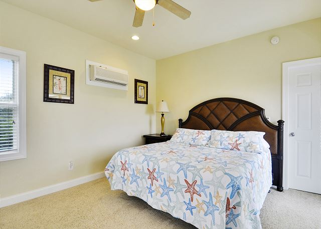2nd King Master Bedroom Guest House of Coastal Castle, a 8 bedroom, 7.0 bathroom vacation rental in Corolla, NC