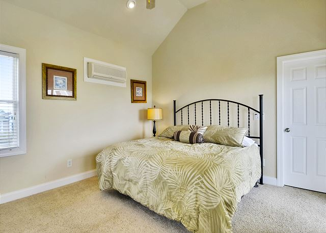 King Master Bedroom Guest House Top Level of Coastal Castle, a 8 bedroom, 7.0 bathroom vacation rental in Corolla, NC