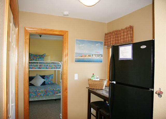 Fridge/Laundry Area Mid Level of Shore Sounds Good!, a 5 bedroom, 4.5 bathroom vacation rental in Corolla, NC