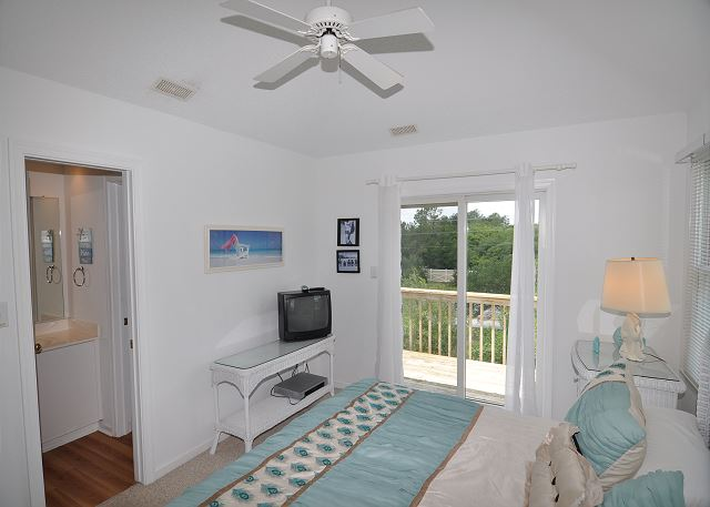 King Bedroom Top Level  of Sunset Strip, a 5 bedroom, 3.0 bathroom vacation rental in Corolla, NC