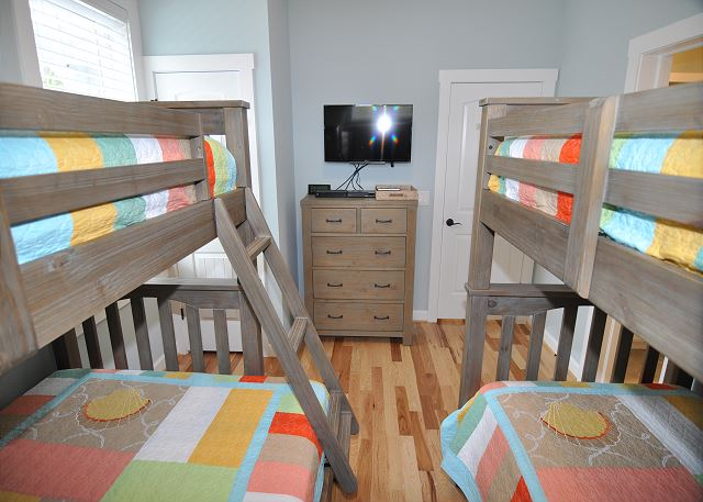Bunk Room Mid Level of Forever 409, a 6 bedroom, 5.5 bathroom vacation rental in Corolla, NC