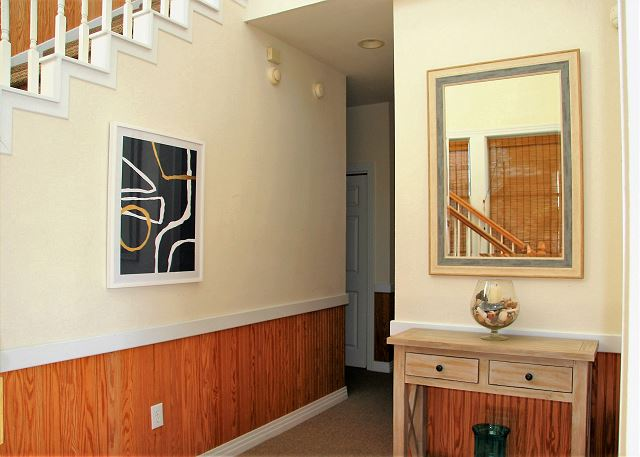 Hallway Entry Level of Par-Tee by the Sea, a 4 bedroom, 3.5 bathroom vacation rental in Corolla, NC