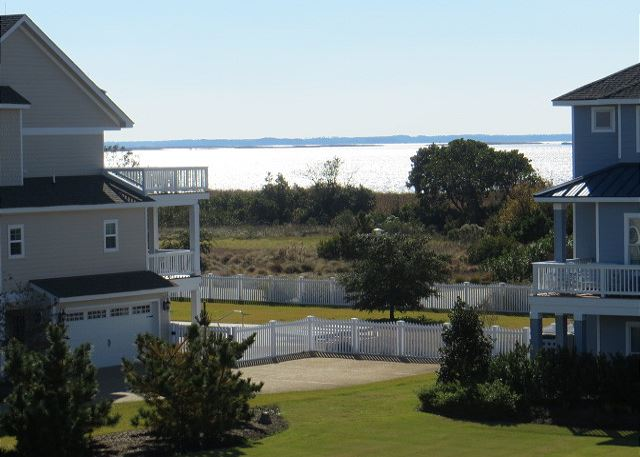 Sound View of Forever 409, a 6 bedroom, 5.5 bathroom vacation rental in Corolla, NC