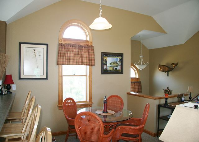 Breakfast Table Top Level of Shore Sounds Good!, a 5 bedroom, 4.5 bathroom vacation rental in Corolla, NC