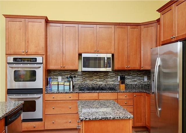 Kitchen Top Level of Thanks Dad, a 6 bedroom, 5.5 bathroom vacation rental in Corolla, NC