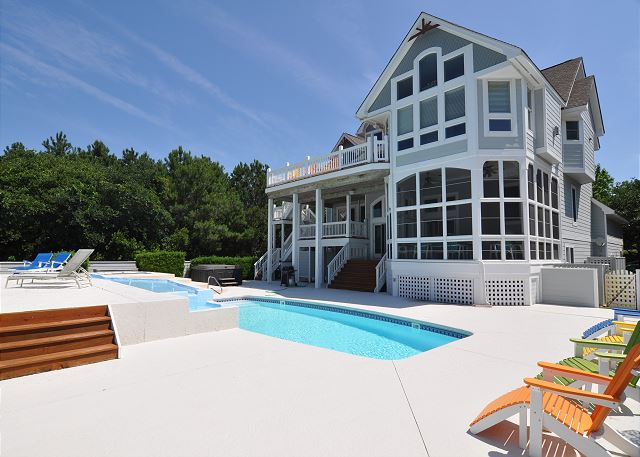 Tranquility Farms of Tranquility Farms, a 7 bedroom, 5.5 bathroom vacation rental in Corolla, NC