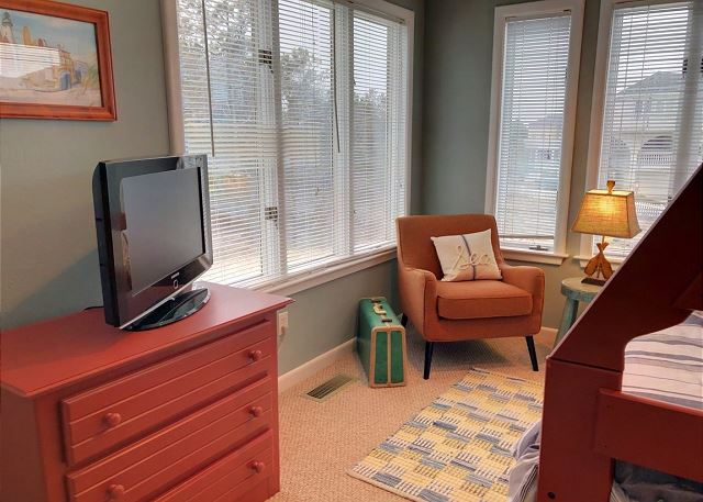 Duo Bunk Room with Trundle Mid Level of Sandy Heels, a 4 bedroom, 3.5 bathroom vacation rental in Corolla, NC