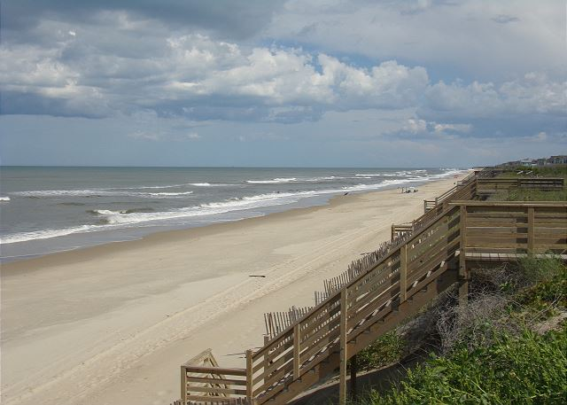 Beach of Waterlily, a 5 bedroom, 5.5 bathroom vacation rental in Corolla, NC
