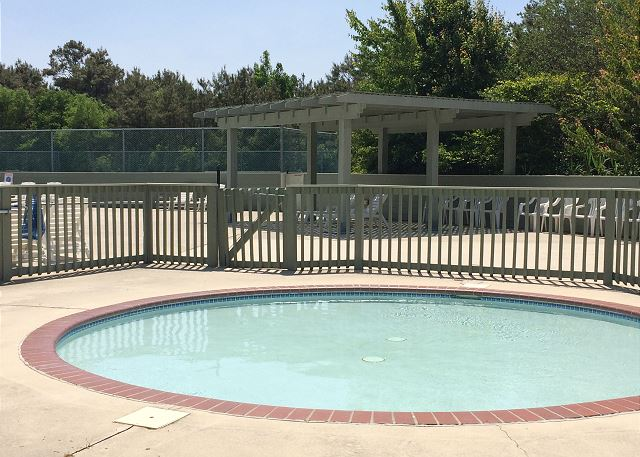 Magnolia Bay Kiddie Pool of Just Fore Fun, a 4 bedroom, 3.5 bathroom vacation rental in Corolla, NC