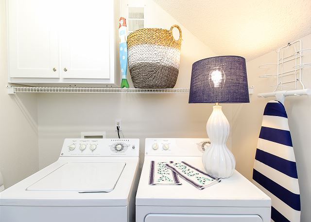 Laundry area of Just Fore Fun, a 4 bedroom, 3.5 bathroom vacation rental in Corolla, NC