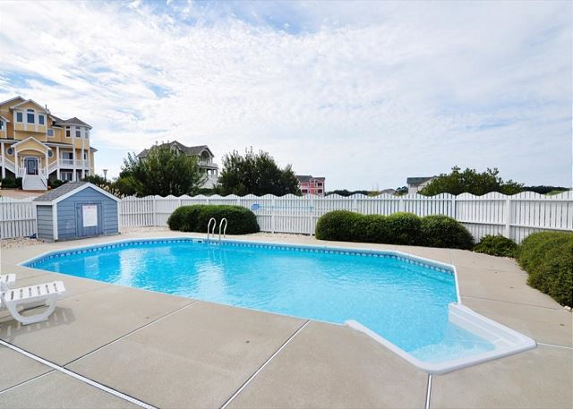 Pool Patio Doc's Landing is a 5 bedroom, 4.5 bathroom vacation rental in Corolla, NC