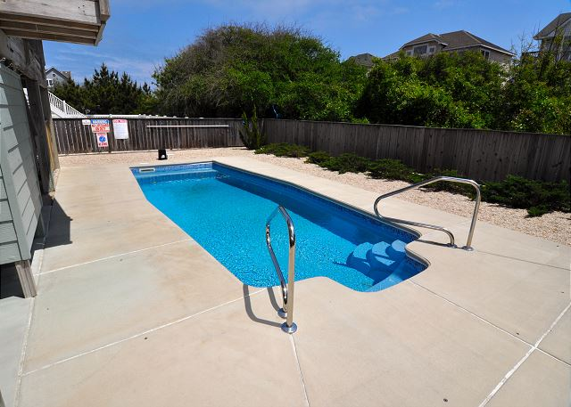 Pool Patio OB Wave is a 5 bedroom, 3.5 bathroom vacation rental in Corolla, NC