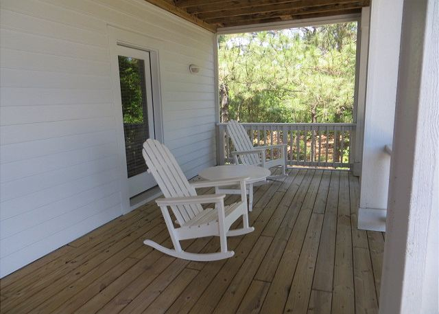 Porch of Southern Breeze, a 5 bedroom, 4.5 bathroom vacation rental in Corolla, NC