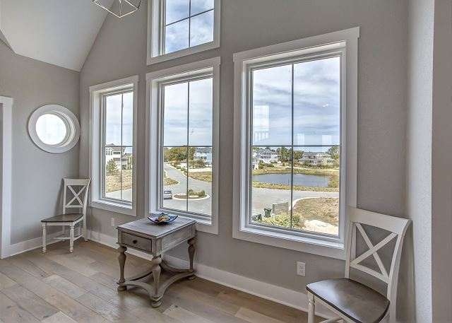 Foyer Top Level  of Summer Love, a 6 bedroom, 6.5 bathroom vacation rental in Corolla, NC