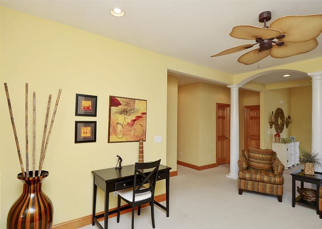 Den Mid Level of Thanks Dad, a 6 bedroom, 5.5 bathroom vacation rental in Corolla, NC