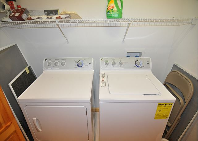 Laundry Room of Amazing Grace, a 4 bedroom, 3.5 bathroom vacation rental in Corolla, NC