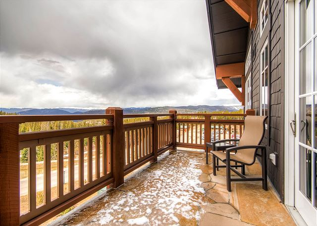 with expansive mountain views