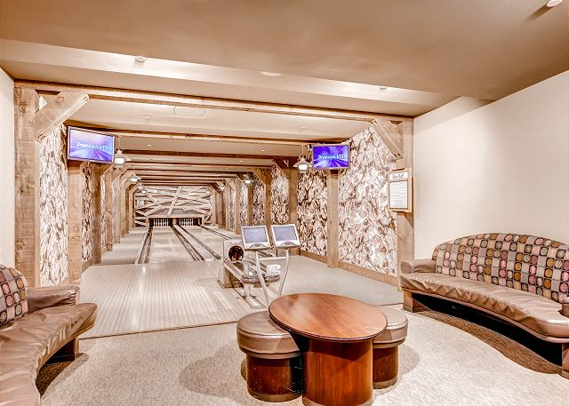 reserve space at the exclusive One Ski Hill Place Bowling Alley!