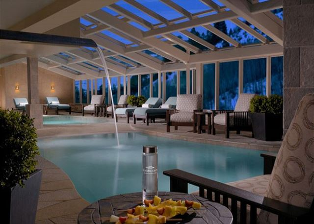 Indoor Swimming Pool at One Ski Hill Place