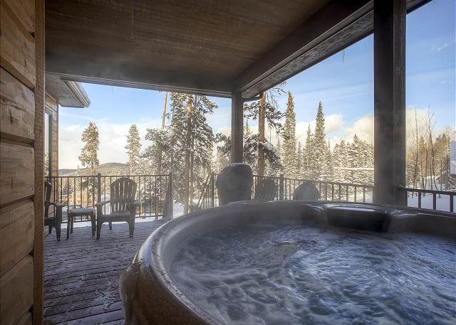 a hot soak