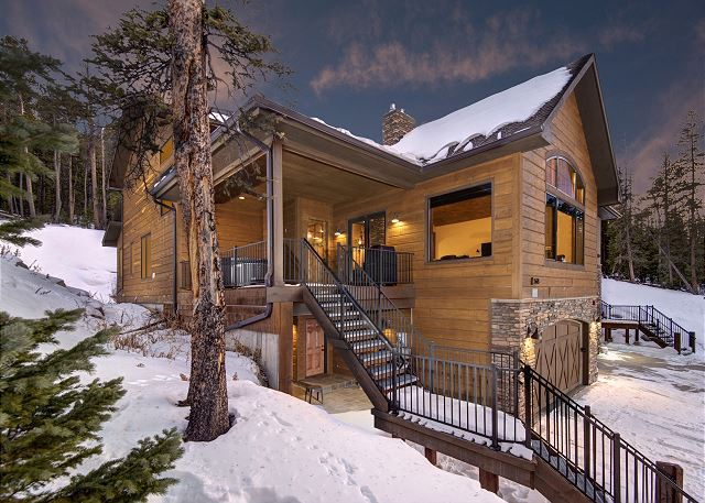 - A luxury duplex situated on Baldy Mountain