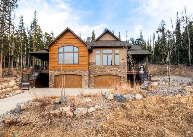 - Granite Peaks takes up the Left side of the Duplex