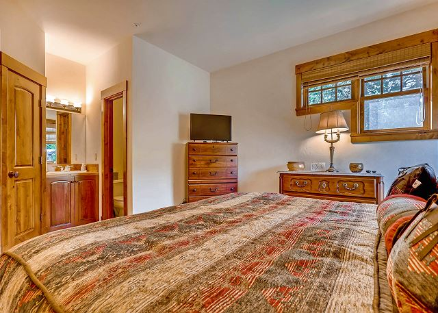 - sleeps 2 in one king bed with TV and large closet