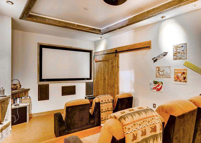 Sound proof theatre room