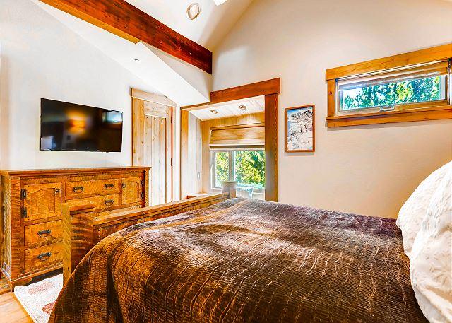 - sleeps 2 in one queen bed
