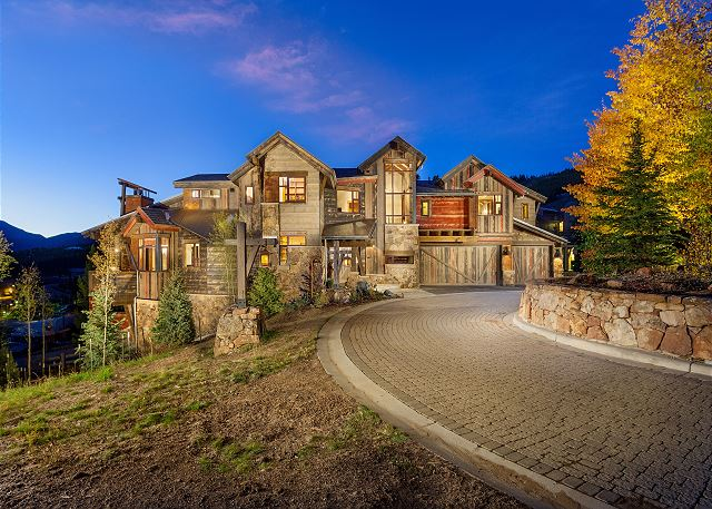 A beautiful custom built home featuring refurbished mine shaft pieces and stunning decor. The best part, on a semi-private trail directly to peak 8 ski base!!