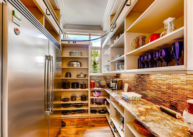 Large kitchen pantry
