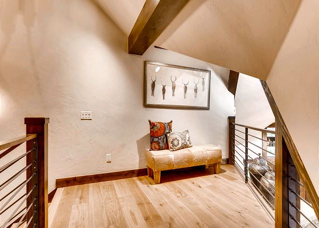 Upper level loft