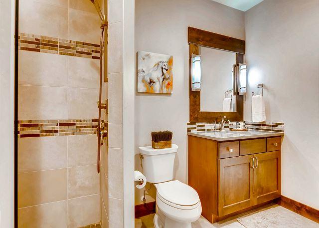 Sauna bathroom