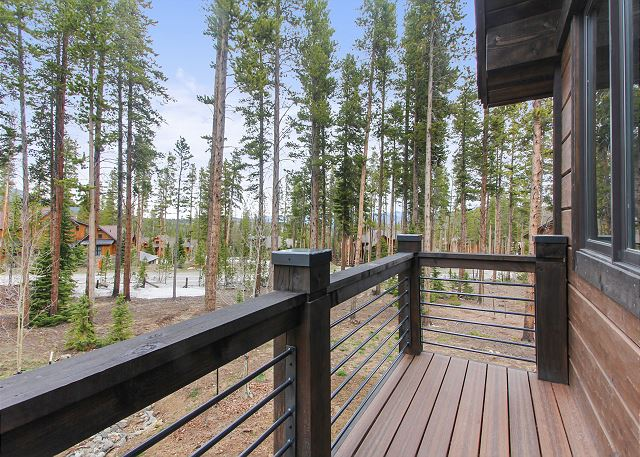 Deck Situated off of Rocky Mountain Master Suite