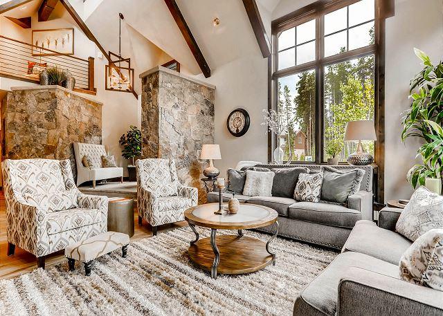 features tasteful and elegant furnishings