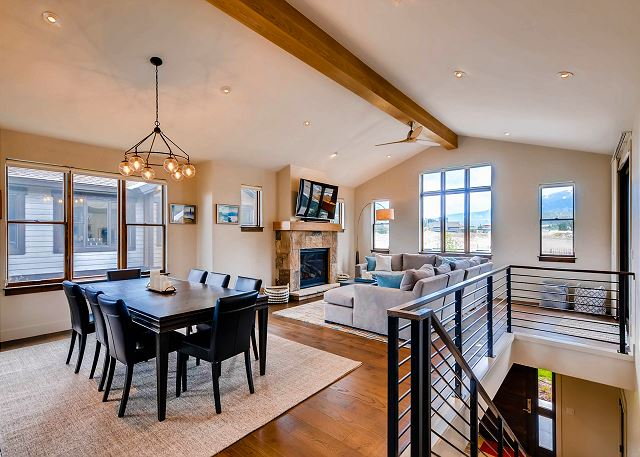 Upper Level offers nice, open layout