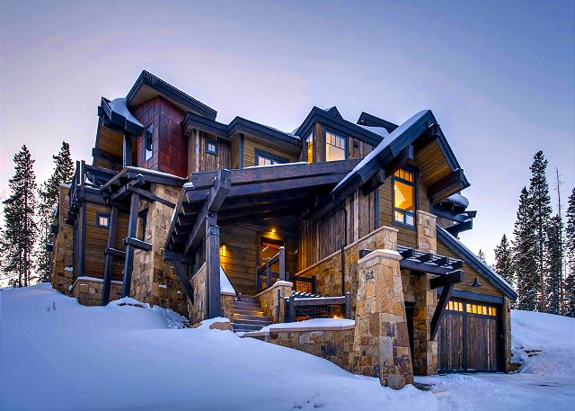 a magnificent vacation home situated in the exclusive Shock Hill neighborhood of Breckenridge - access the slopes with ease from the Mid Station Gondola stop located an 8-minute walk from the home