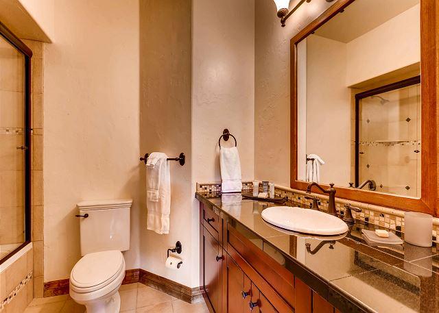 Lower full bathroom