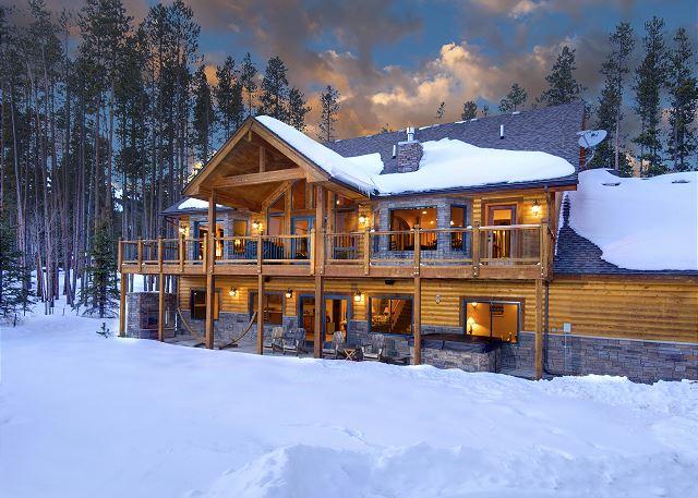 A splendid retreat with serene mountain views.