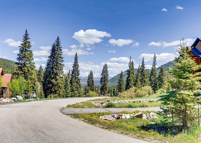 Area surrounding Whispering Pines