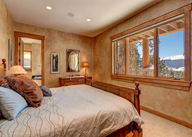 - sleeps 2 in one king bed, ensuite bath with soaking tub, standing shower and dual sinks