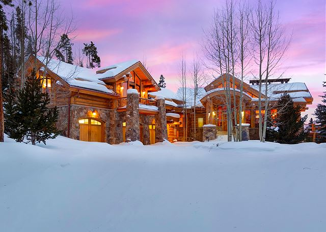 Unparalleled views, elegance, and seclusion in this custom log cabin home.